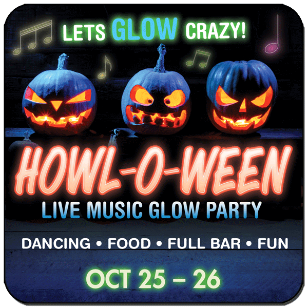 Howl at the Moon Glow Party