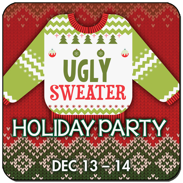 Howl at the Moon's Ugly Sweater Holiday Party